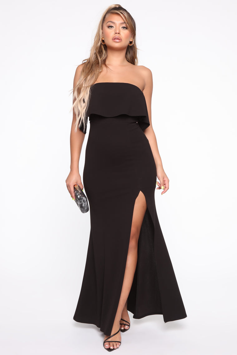 The True Meaning Maxi Dress - Black