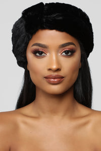 Fur You Only Headband - Black