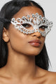 No Secrets Mask - Silver
