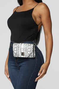 I Heard They Converted Fanny Pack - Black/White