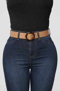 Waisted On You Belt - Taupe