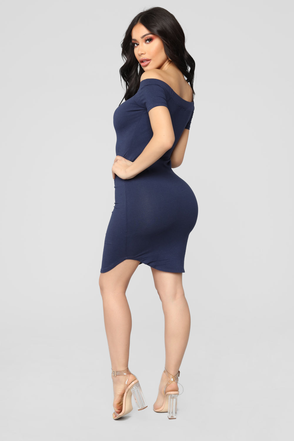 Summer Nights Dress - Navy
