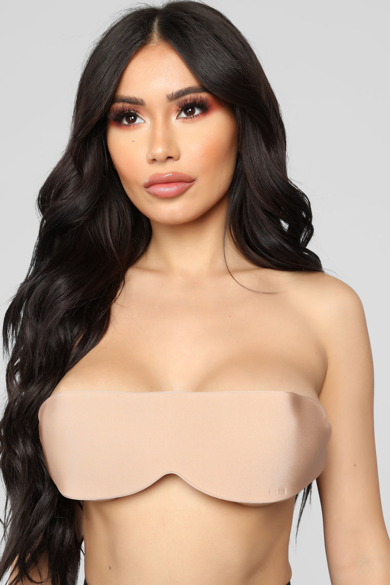Just A Little Closer Invisible Bra - Nude