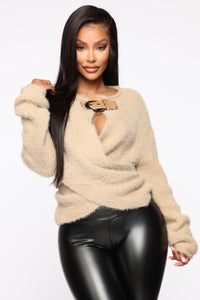 Winter Exposure Sweater - Mocha Angle 1