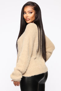 Winter Exposure Sweater - Mocha Angle 4
