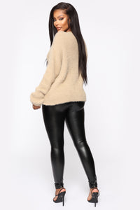 Winter Exposure Sweater - Mocha Angle 5