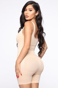 Stay Snatched Shapewear Bodysuit - Nude