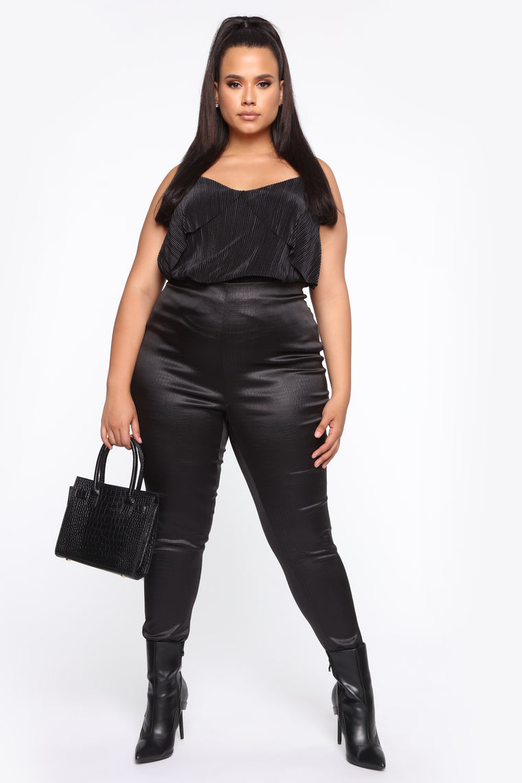 Out For The Night Top - Black
