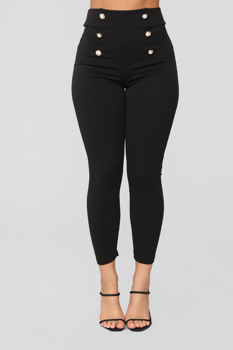 Janae Skinny Pants - Black