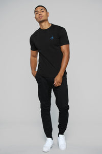 Midnight Scorpion Tee - Black