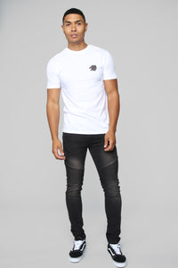 Howling Short Sleeve Tee - White