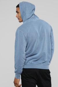 My Go To Pull-Over Hoodie - Blue