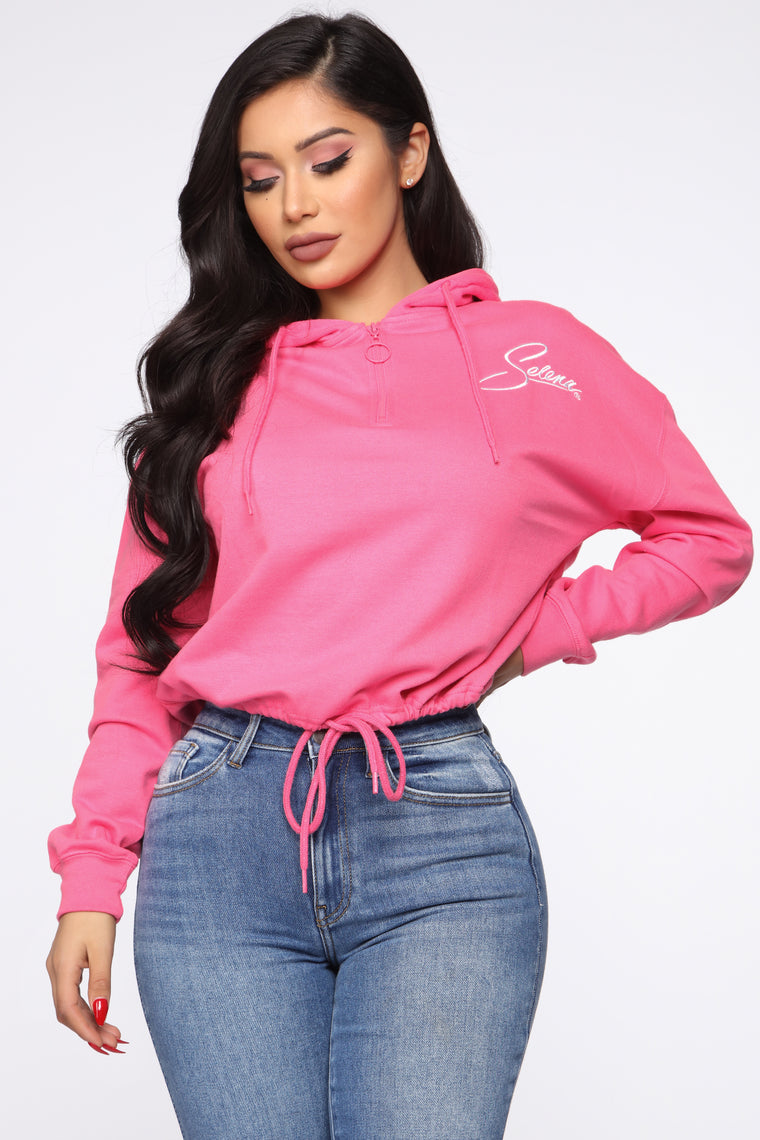 youre-always-on-my-mind-hoodie---neon-pink by fashion-nova