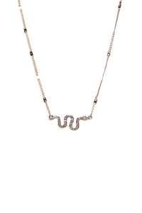 Hiss A Fool For Me Necklace - Gold
