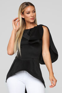 City Heights Top - Black