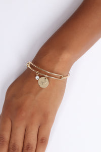 Sagittarius Please Sign Here Bracelet - Gold