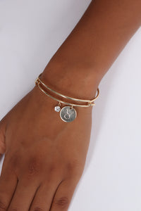 Taurus Please Sign Here Bracelet - Gold