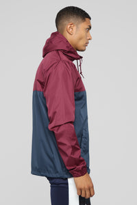 Jupiter Rain Jacket - Navy/Combo