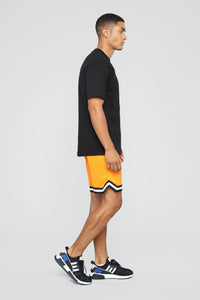Duval Basketball Shorts - Yellow