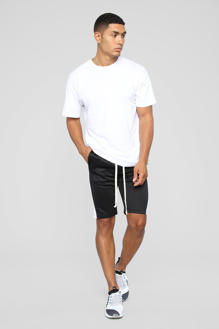 Cooper Shorts - Black/White
