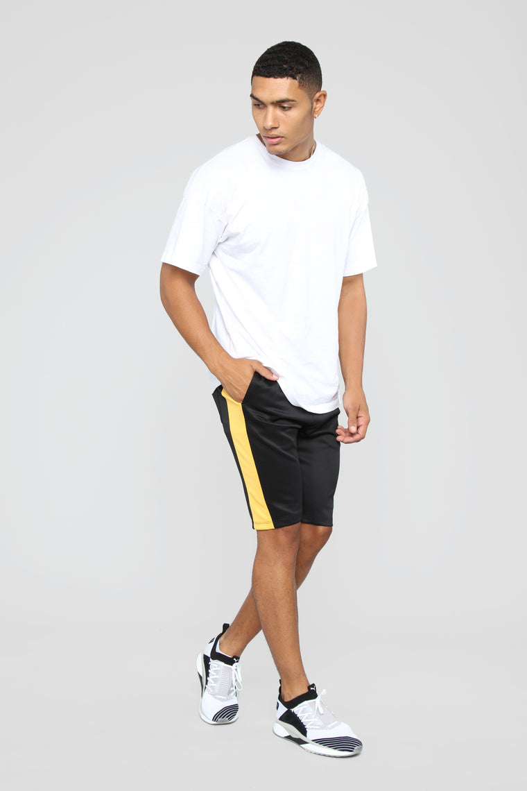 Cooper Shorts - Black/Gold