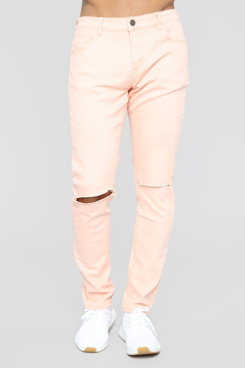 James Slim Pants - Pink