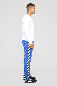 Dia Track Pants - Royal