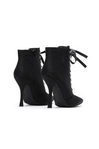 Let's Be Honest Bootie - Black