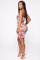 Feeling Myself Mini Dress - Multi