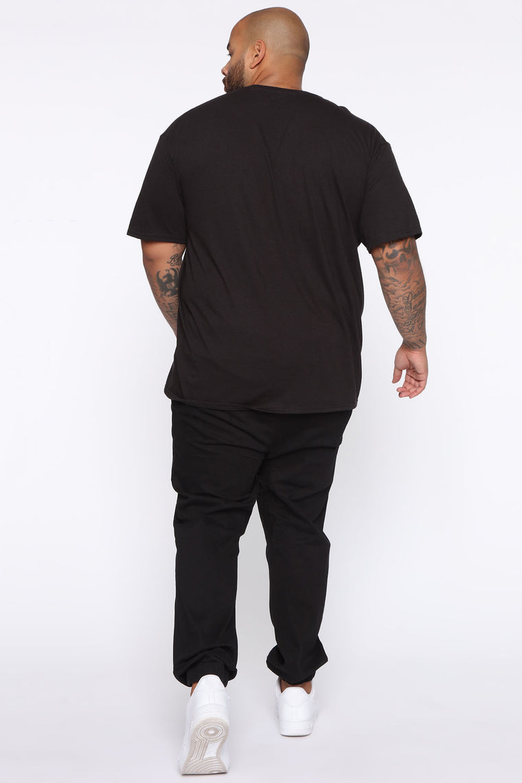 Mickey Short Sleeve Tee - Black/White