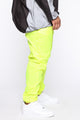 No One Can Stop Me Reflective Joggers - Yellow/Combo