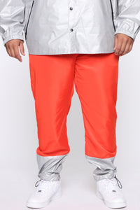 Escape From Alcatraz Joggers - Orange/Combo Angle 7