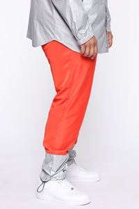 Escape From Alcatraz Joggers - Orange/Combo Angle 9
