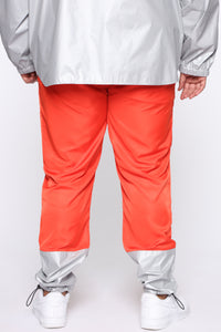 Escape From Alcatraz Joggers - Orange/Combo Angle 11