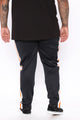 Big Picture Track Pant - Black/combo