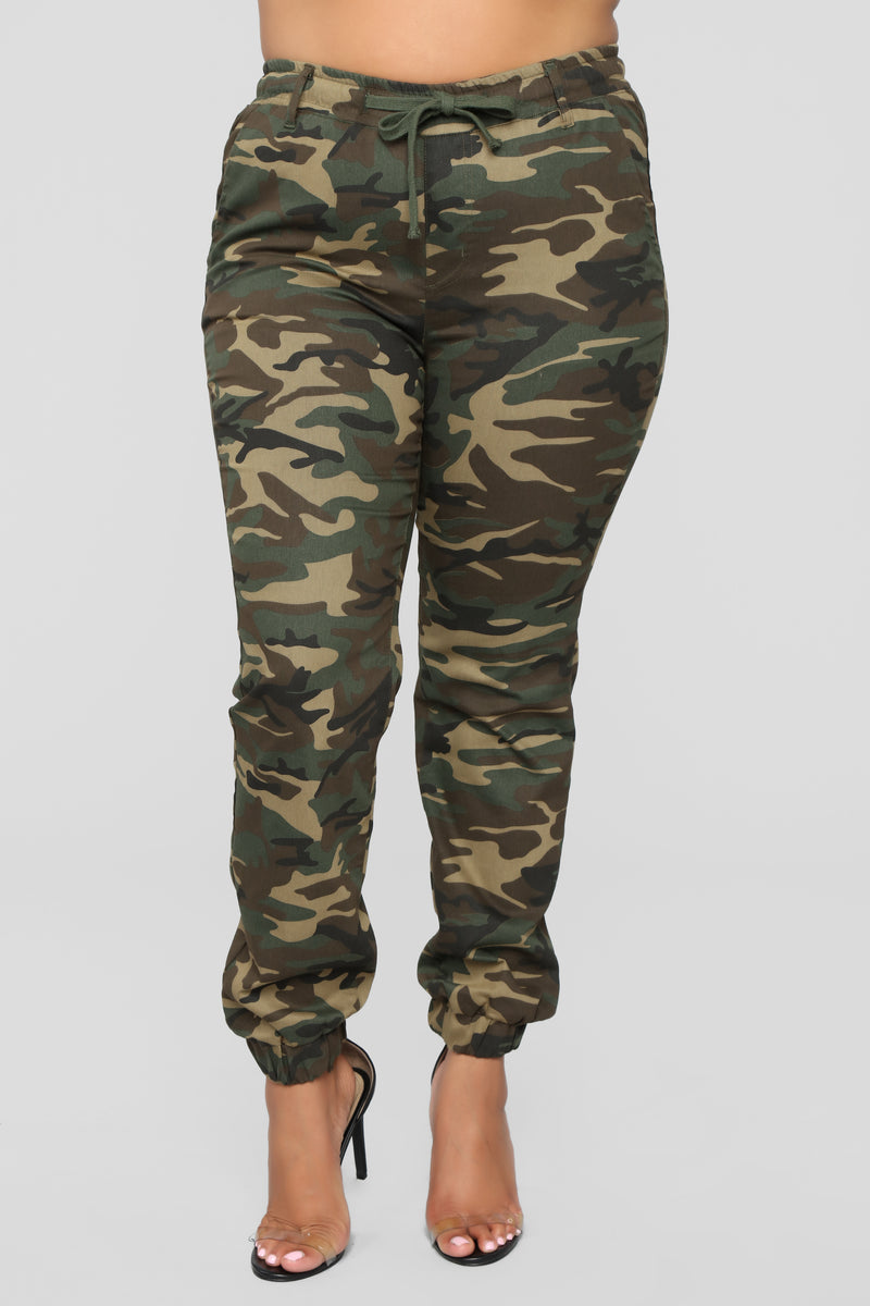 No Need To Change Jogger - Olive