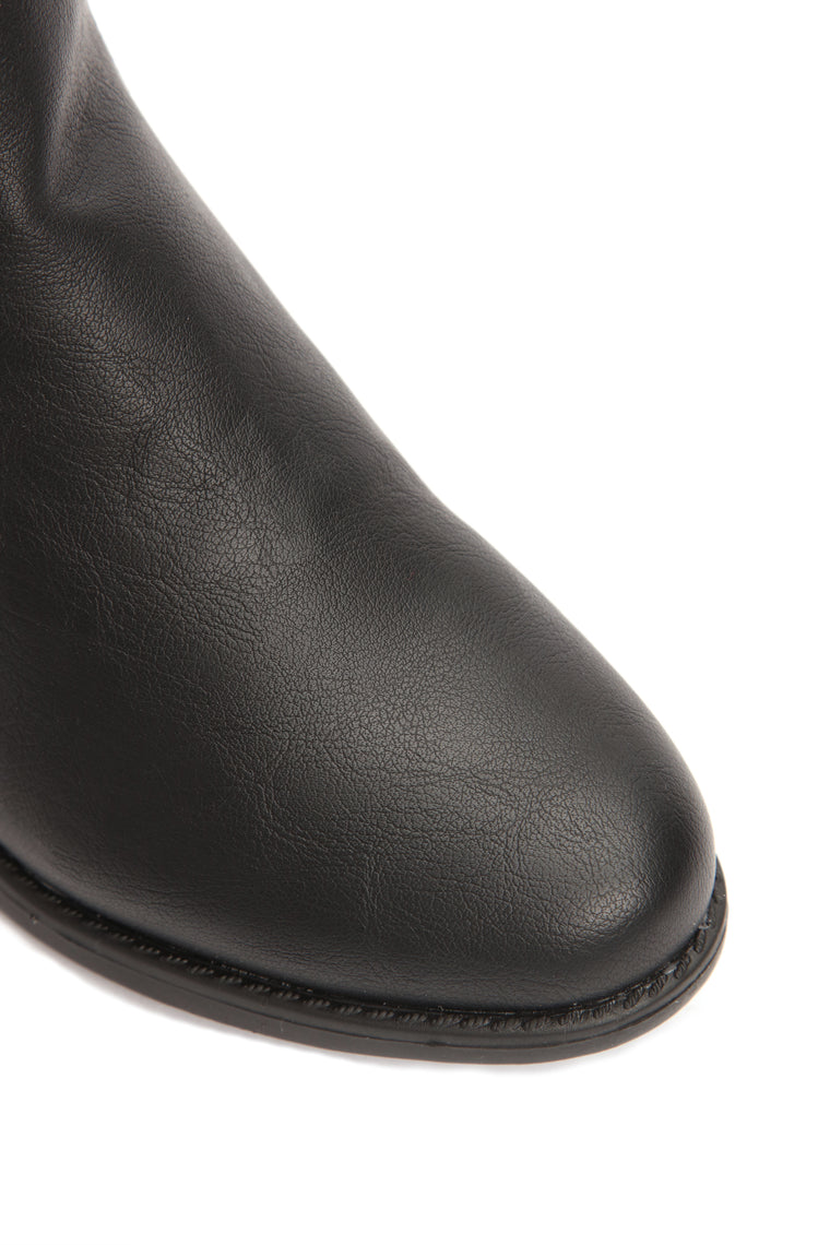 Nothing Is The Same Flat Boot - Black