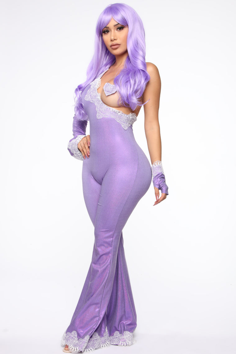 Crush On You 3 Piece Costume Set - Lavender