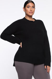 In My Heart Sweater - Black