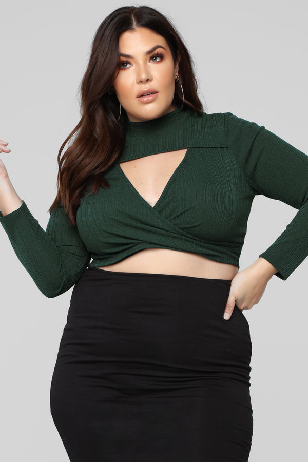 bfeb7fa90 Plus Size - Crop Tops