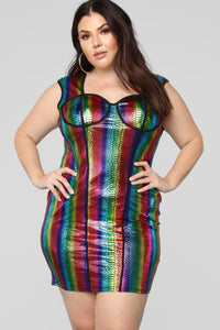 Over The Rainbow Dress - MultiColor