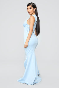 Entice Dress - Light Blue