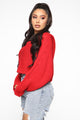 Loving You Sweater - Red