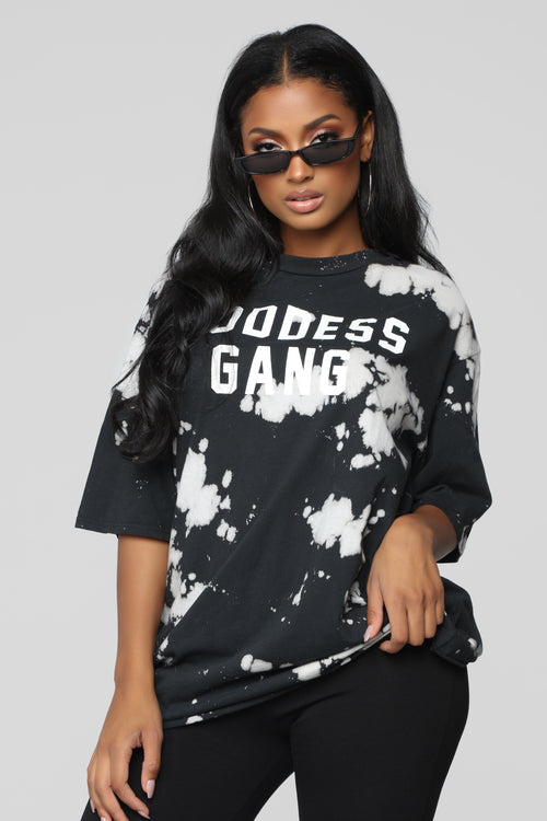 Goddess Gang Top - Black/combo