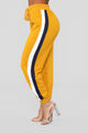 Above Average Lounge Joggers - Mustard