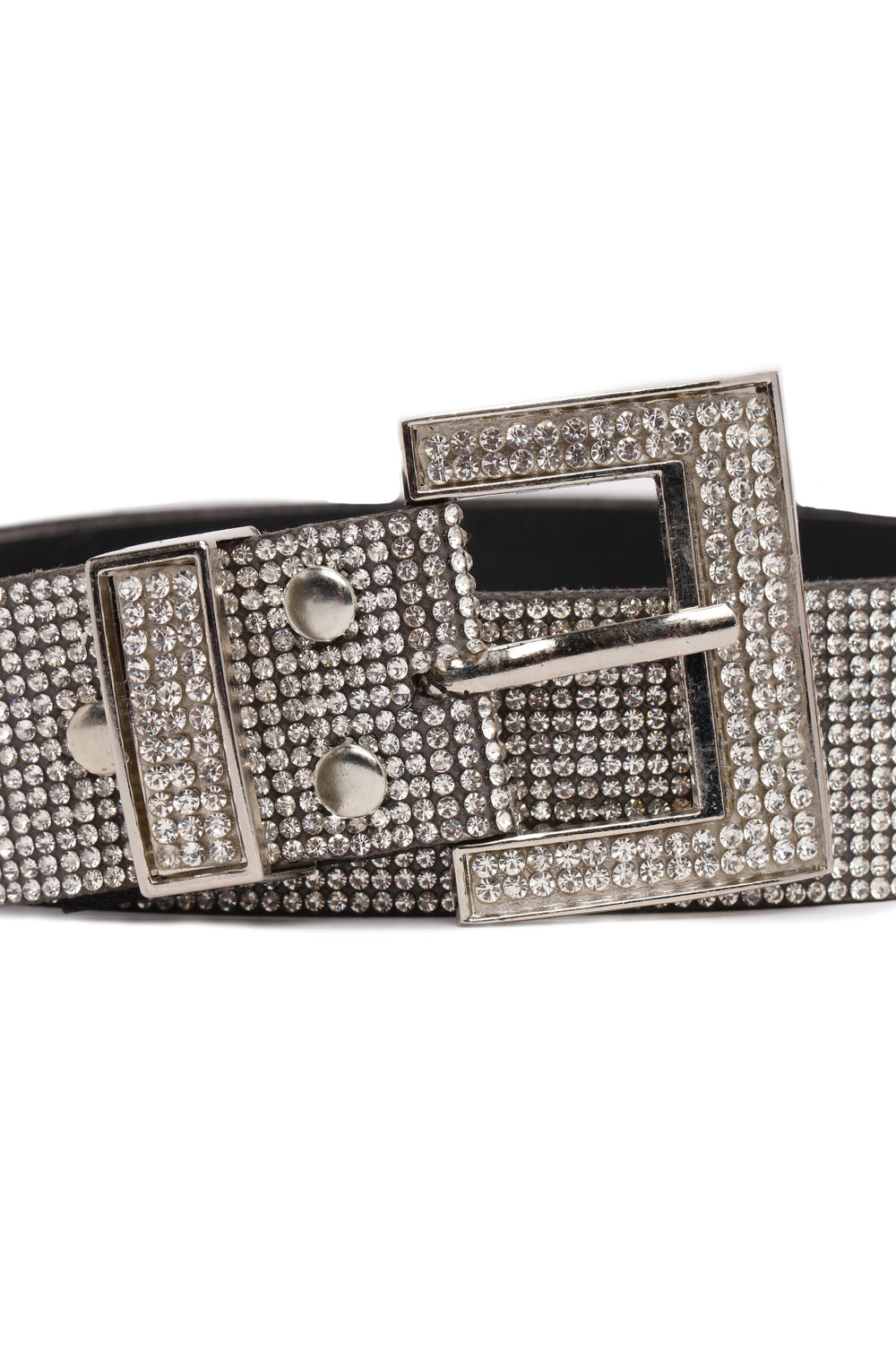 Standing Out Belt - Silver