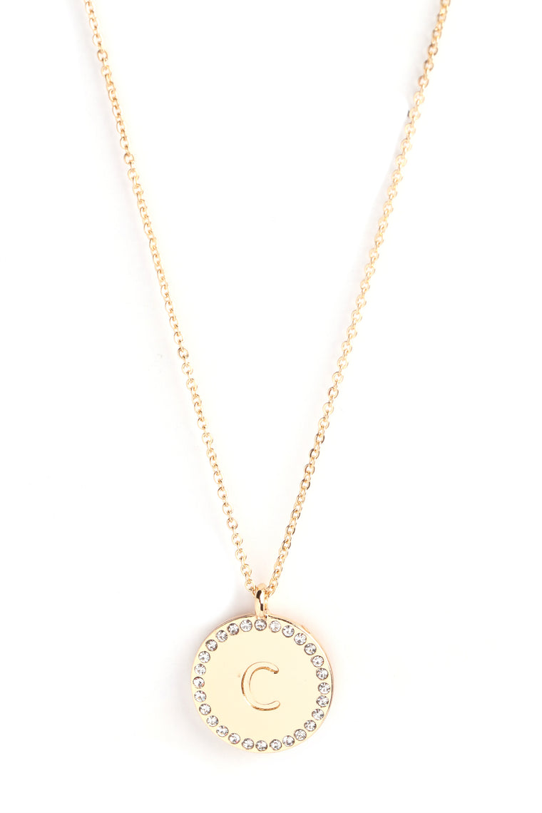 Unwritten C Necklace - Gold