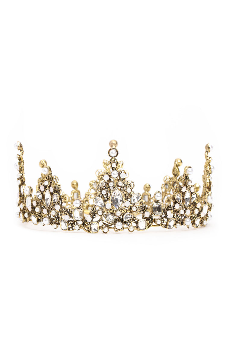 Fairest Of Them All Tiara - Gold