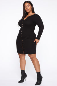 Call It Love Dress - Black