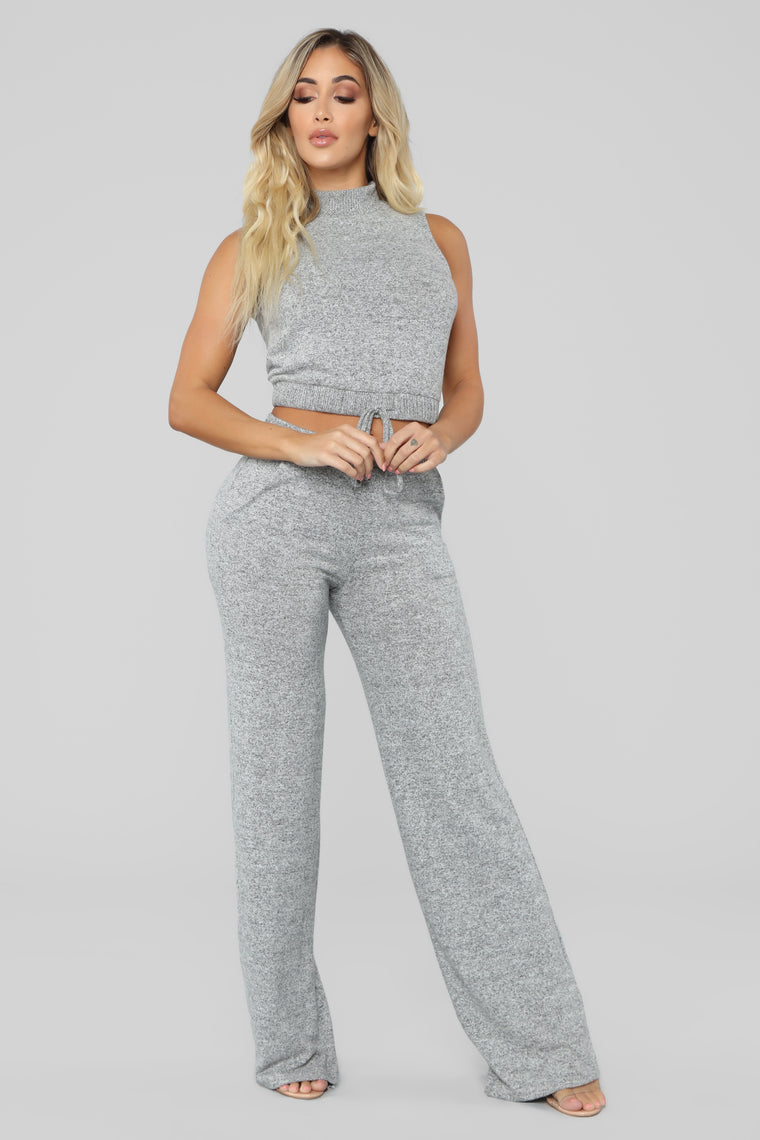 In Love With The Feeling Set - Heather Grey